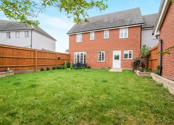 Thumbnail 5 bed link-detached house for sale in Phoenix Way, Stowmarket