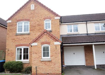 Thumbnail 3 bed link-detached house for sale in Kestrel Close, Fleckney, Leicester