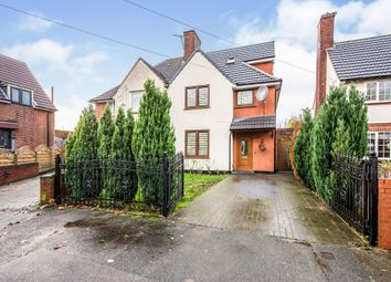 Thumbnail 5 bed semi-detached house for sale in Narborough Road, Leicester