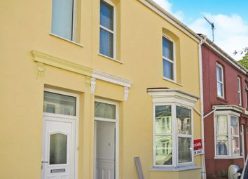 Thumbnail 3 bed terraced house for sale in Embankment Road, Plymouth