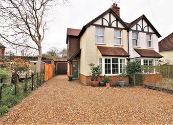 Thumbnail 3 bed semi-detached house for sale in Steels Lane, Oxshott, Leatherhead