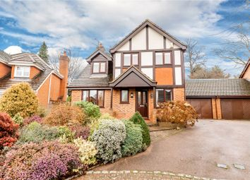 Thumbnail 4 bed link-detached house for sale in Campbell Place, Frimley, Surrey
