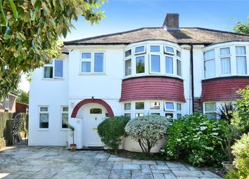 Thumbnail 4 bed semi-detached house for sale in Warren Mead, Banstead, Surrey