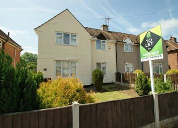 Thumbnail 3 bed semi-detached house to rent in Burlington Avenue, Langwith Junction, Mansfield