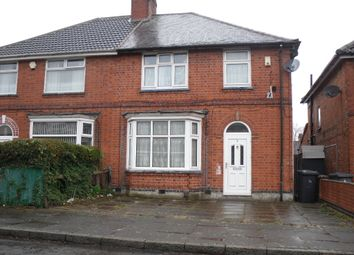 Thumbnail 3 bed semi-detached house to rent in Noorwood Road, Evington, Leicester