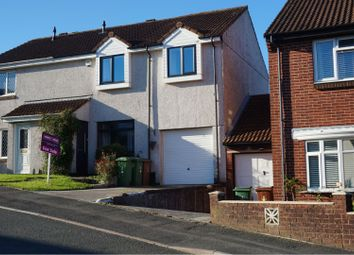 Thumbnail 4 bed semi-detached house for sale in Kitter Drive, Plymouth
