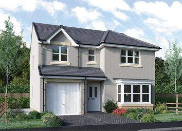 "Thumbnail 4 bed detached house for sale in ""Fletcher"" at Rosehall Way, Uddingston, Glasgow"