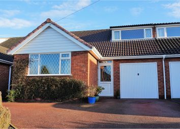 Thumbnail 3 bed semi-detached bungalow for sale in Aulton Road, Four Oaks, Sutton Coldfield
