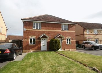 Thumbnail 2 bed semi-detached house to rent in Farthingale Way, Hemlington, Middlesbrough