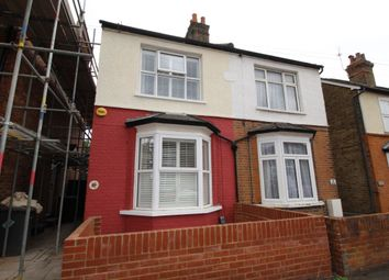 Thumbnail 2 bed semi-detached house for sale in Glebe Road, Egham