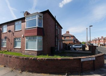 Thumbnail 2 bed flat for sale in Cresswell Road, Wallsend