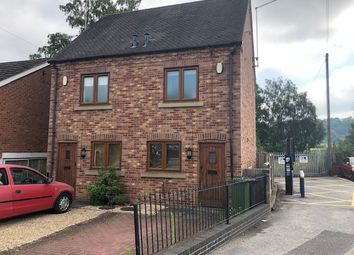 Thumbnail 2 bed semi-detached house to rent in Station Road, Duffield, Belper, Derbyshire
