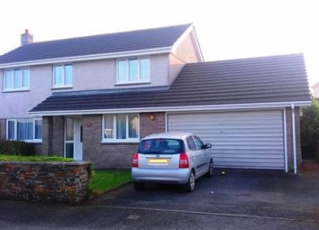 Thumbnail 4 bed detached house for sale in Bugle, St. Austell, Cornwall