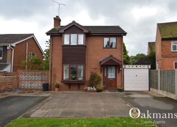 Thumbnail 3 bedroom detached house for sale in Gibbins Road, Birmingham, West Midlands.