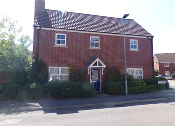 Thumbnail 4 bed detached house to rent in Langlands Road, Bedford