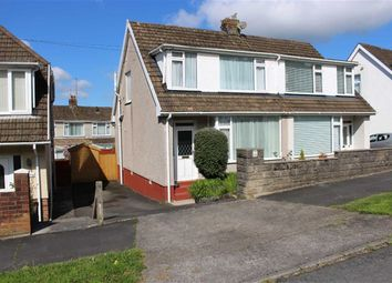 Thumbnail 3 bedroom semi-detached bungalow for sale in Woodcote, Killay, Swansea