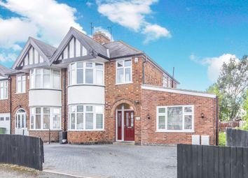 Thumbnail 3 bed semi-detached house for sale in Shakespeare Drive, Braunstone Town, Leicester