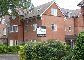 Thumbnail 2 bed flat to rent in Argyll Court, Crawley
