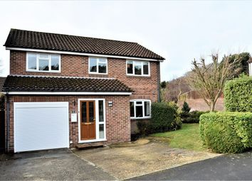 Thumbnail 4 bed detached house for sale in Pevensey Way, Frimley, Surrey
