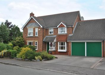 Thumbnail 5 bed detached house for sale in Calderfield Close, Stockton Heath, Warrington