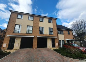 Thumbnail 4 bed town house for sale in St. Johns Close, Peterborough