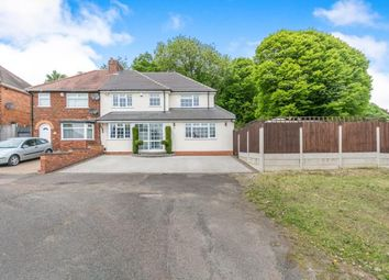 Thumbnail 3 bedroom semi-detached house for sale in Broad Lane, Birmingham, West Midlands