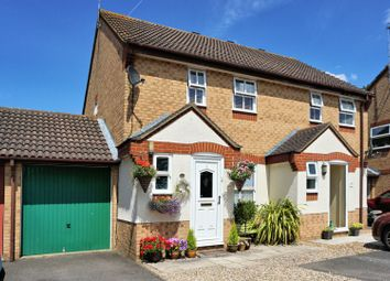 Thumbnail 3 bed semi-detached house for sale in Nuthatch Close, Staines-Upon-Thames