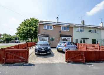 Thumbnail 3 bedroom end terrace house for sale in Charfield Close, Swindon