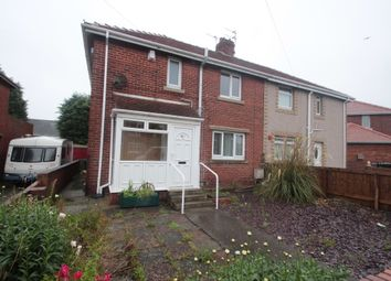 Thumbnail 3 bedroom semi-detached house for sale in Welfare Crescent, Newbiggin-By-The-Sea