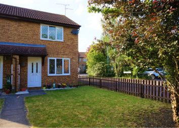 Thumbnail 2 bedroom semi-detached house for sale in Carman Close, Swindon