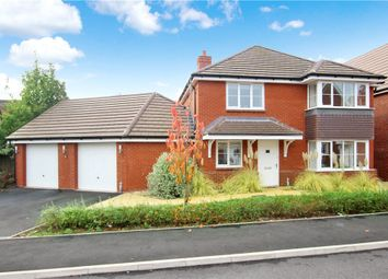 Thumbnail 4 bed detached house to rent in Partletts Way, Powick, Worcester, Worcestershire
