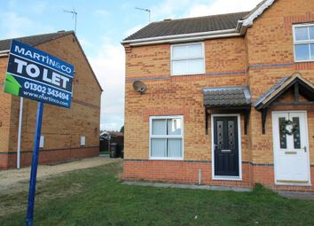 Thumbnail 2 bed semi-detached house to rent in Monks Close, Dunscroft, Doncaster