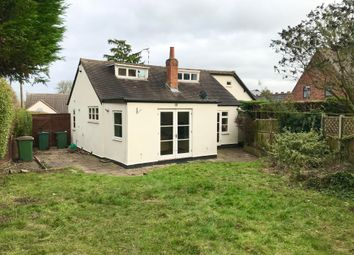 Thumbnail 4 bed bungalow to rent in Wigston Road, Blaby, Leicester