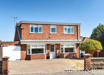 Thumbnail 4 bed detached house for sale in Beach Road, Caister-On-Sea, Great Yarmouth