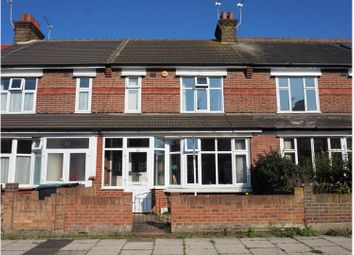 Thumbnail 3 bedroom terraced house for sale in Meadow Road, Gravesend