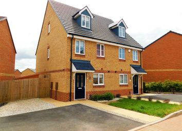 Thumbnail 3 bed semi-detached house for sale in Paterson Drive, Marston Grange, Stafford