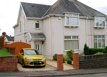Thumbnail 3 bed semi-detached house for sale in Carlton Road, Clydach, Swansea