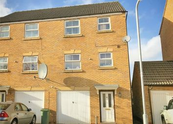 Thumbnail 4 bed end terrace house for sale in Carlisle Close, Corby, Northamptonshire