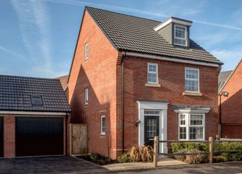 Thumbnail 4 bed detached house for sale in Hopkins Field, Creech St. Michael, Taunton