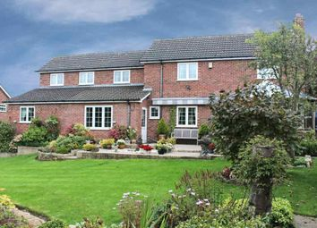 Thumbnail 4 bed detached house for sale in Hallaton Road, East Norton, Leicester