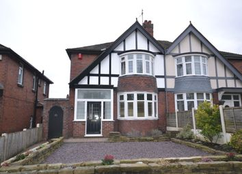 Thumbnail 3 bed semi-detached house for sale in Porthill Bank, Porthill, Newcastle-Under-Lyme