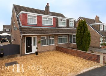 Thumbnail 3 bed semi-detached house for sale in Talbot Drive, Euxton, Chorley