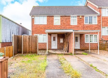 Thumbnail 3 bed end terrace house for sale in Chiswick Drive, Loughborough