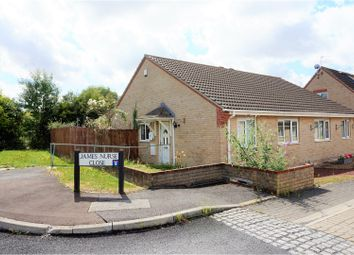 Thumbnail 2 bed semi-detached bungalow for sale in James Nurse Close, Cambridge