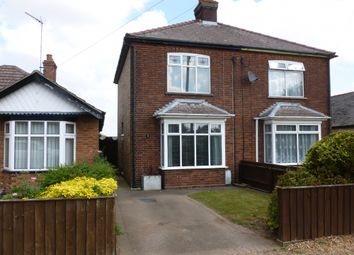 Thumbnail 2 bed semi-detached house to rent in Upwell Road, March