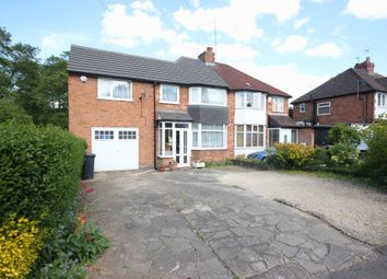Thumbnail 4 bed semi-detached house for sale in Dene Court Road, Solihull