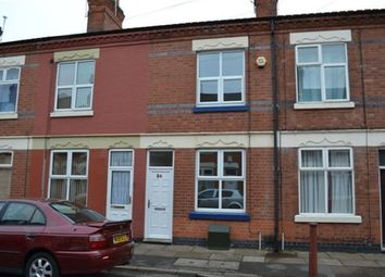 Thumbnail 2 bed terraced house to rent in Oakley Road, Leicester