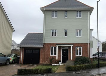 Thumbnail 4 bed detached house for sale in Manley Boulevard, Snodland, Kent