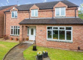 Thumbnail 4 bed detached house for sale in Ashby Road, Kegworth, Derby