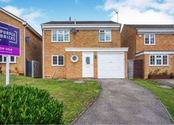 Thumbnail 4 bed detached house for sale in Busby Close, Buckingham